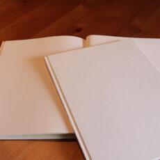束見本(つか・みほん)という真っ白な本
