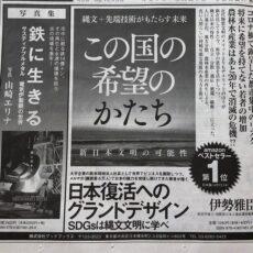 日経新聞に新刊2点を広告